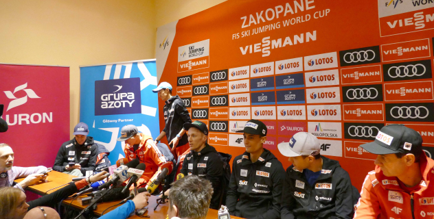 Kamil Stoch: aim is to jump as far as possible
